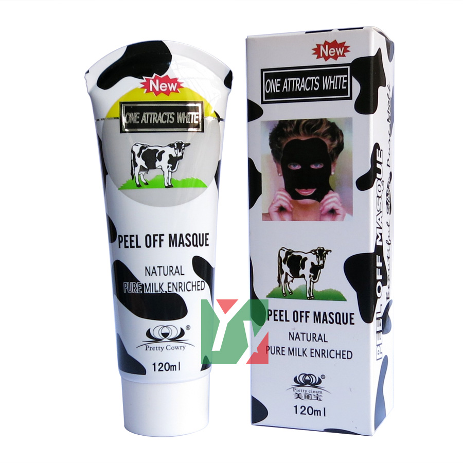 Tearing style deep cleansing purifying natural pure milk - Masque peel off maison ...