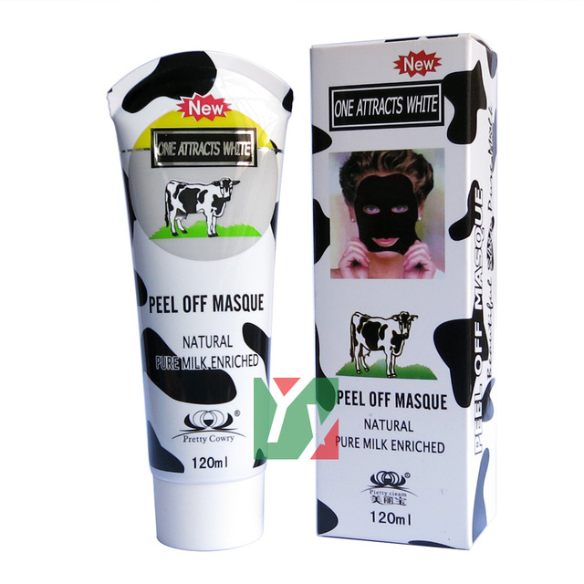 Tearing style Deep Cleansing purifying natural pure milk enriched peel off masque