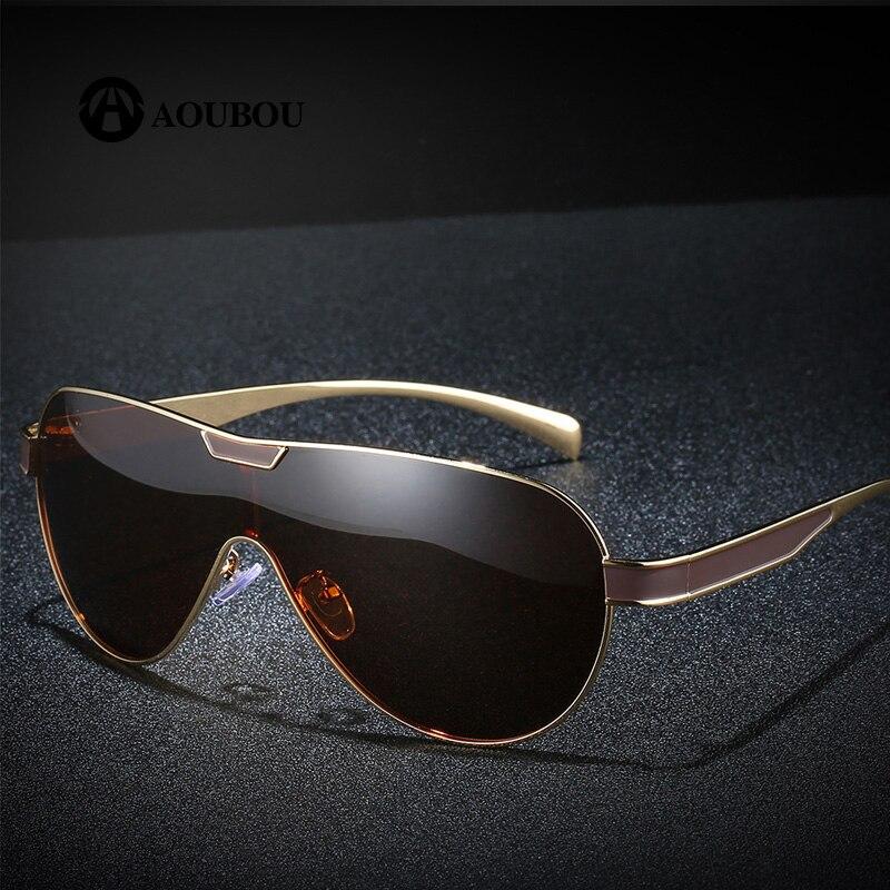 5f886a3b5a aviator sunglasses mens Polarized gothic festival oversize moda hombre 2019  occhiali da sole yellow gafas sol