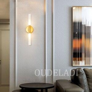 Image 4 - Moderne Metalen Buis Pijp Up Down Led Wall Lampen Slaapkamer Foyer Wasruimte Woonkamer Wc Badkamer Muur Licht Lamp