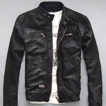 Nouveau hommes hiver veste en cuir véritable pour hommes moto pilote de vol Bomber veste en cuir véritable naturel mâle aviateur manteau 2019