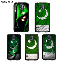 MaiYaCa Pakistan Flag Banner Phone Case For Samsung Galaxy S4 S5 S6 S7 Edge S8 S9 S10 Plus Lite Note 4 5 8 9 Back Cover Shell