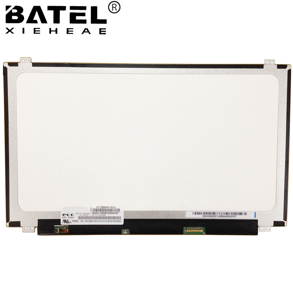 IPS Screen For Lenovo Ideapad 500-15ISK Laptop LCD Screen LED Display Matrix for Laptop 15.6 30Pin FHD 1920X1080 IPS Screen Mat b173hw01 v5 original new b173hw01 v 5 lcd laptop screen matrix fhd 1920 1080 17 3 lvds 40pin au optronics