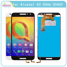 LCD Screen Für Alcatel A3 5046 LCD Display mit Touch Screen Digitizer Montage für Alcatel A3 5046 Original Telefon Ersatz(China)