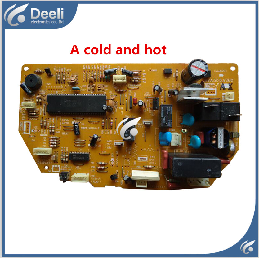 95% new used for Mitsubishi air conditioning board RYA505A360 computer board good working air conditioning parts computer board 30294206 dashboard z421503 used disassemble