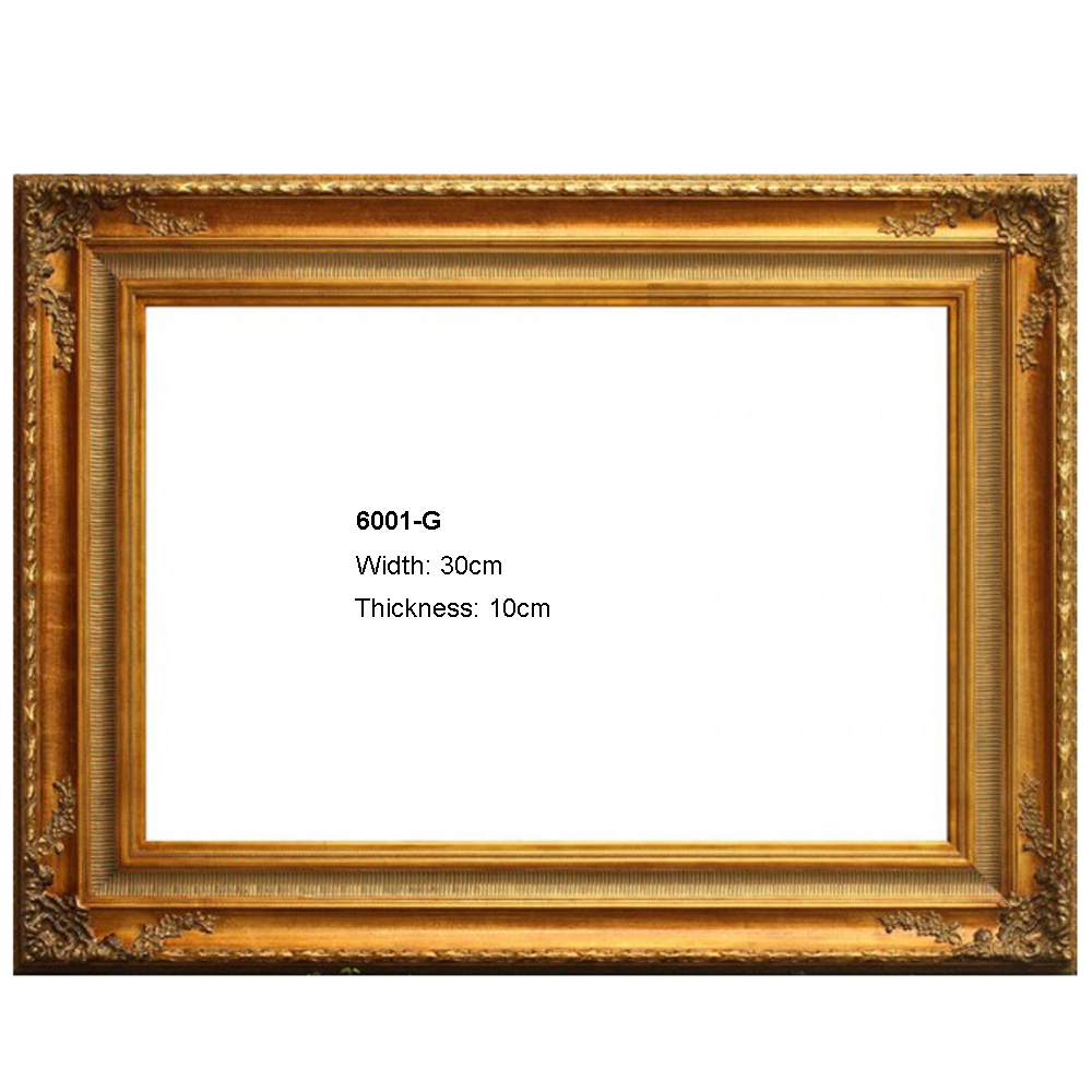 Europe outside wood frame for painting frames home wall art decoration