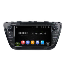Fit for suzuki SX4  2014 S-Cross android 5.1.1 HD 1024*600 car dvd player gps autoradio 3G wifi dvr navigation free map camera