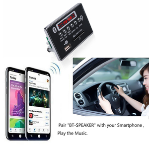 Image 4 - kebidu Car USB MP3 Player Integrated Bluetooth Hands free MP3 Decoder Board Module Remote Control USB FM Aux Radio for Car