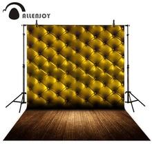 Fondos Allenjoy para estudio fotográfico vintage cabecera madera dorada fondos de suelos diseño original de alta calidad