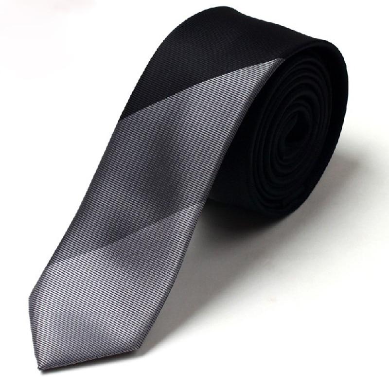 2020 New Arrivals Fashion 5CM Slim Tie Men's Stripe Necktie Casual Skinny Silk Tie Luxury Brand Ties For Men Neckties Gift Box