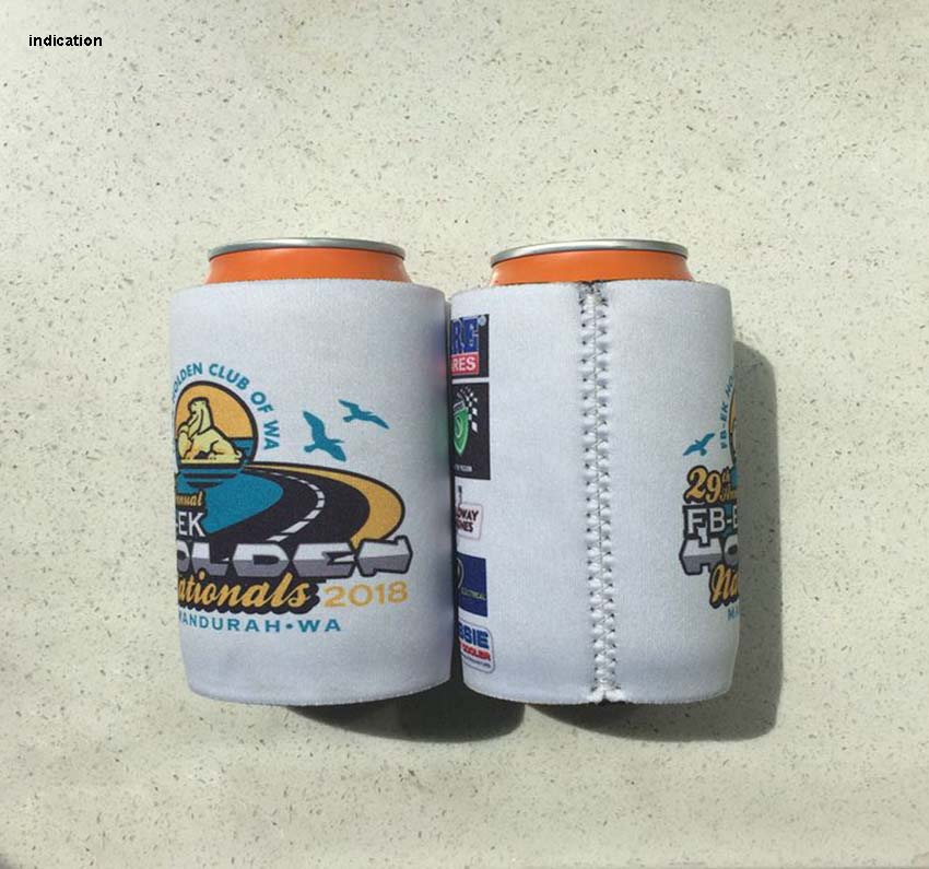 150pcs Customized Logo Stubby Cooler Neoprene Stubby Holders Insulated Can Cover Wedding Picnic Can Cooler Bag Custom Coolers