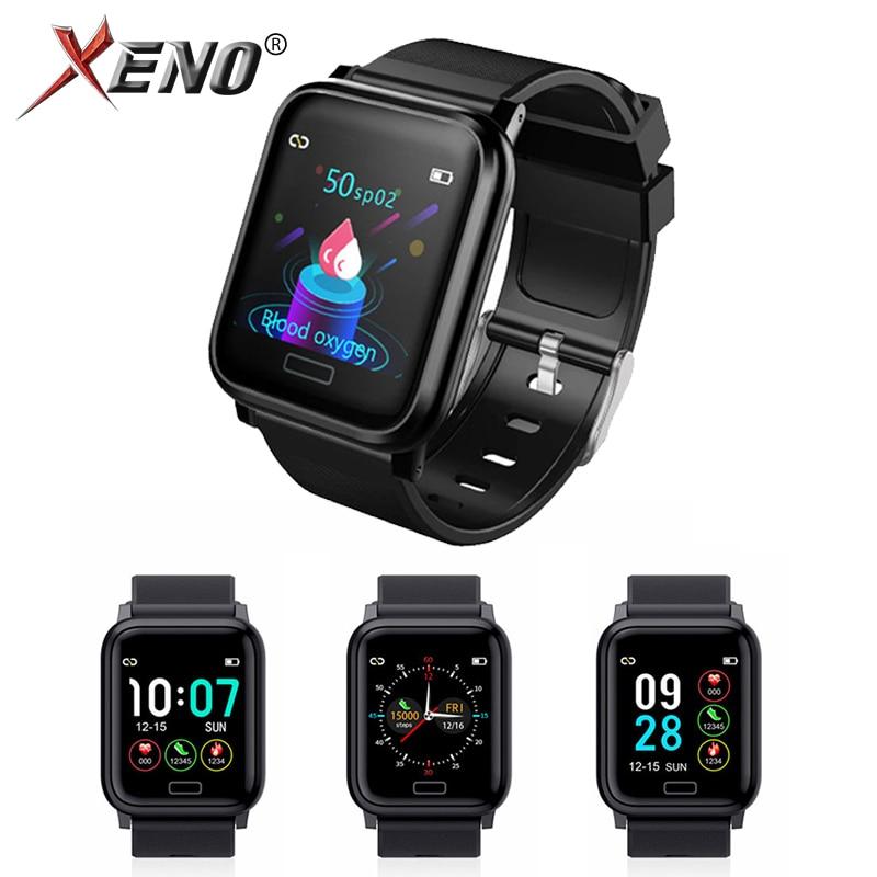 Smart Watch Band Bracelect 1.3 inch Screen Blood Pressure Oxygen Fitness bracelet Sport Standby Men Sport Fitness Tracker-in Smart Wristbands from Consumer Electronics