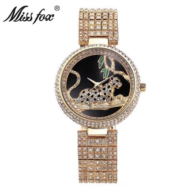 Miss Fox Brand Quartz Bracelet Watches Women's Charming Quartz Watches Beauty Luxury Fashion Accessories Wristwatch Damenuhr   Fotoflaco.net