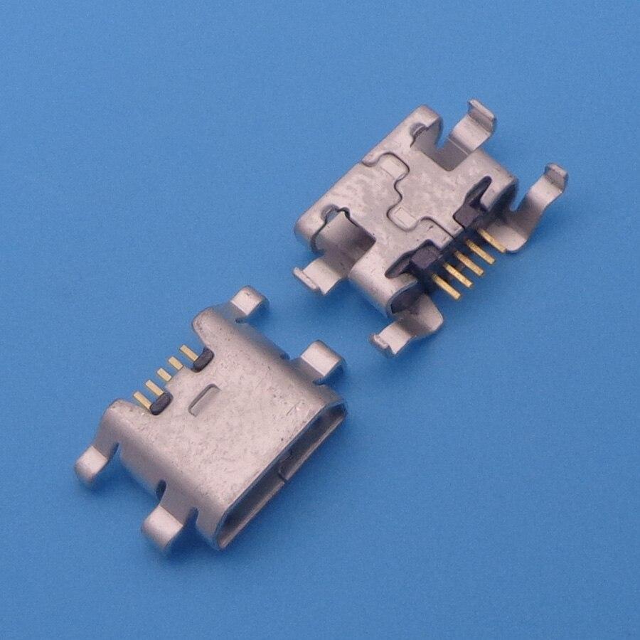 10pcs For ZTE Blade L2 S6 5.0 U807 N983 N807 U956 N5 N909 N798 N980 Micro Mini USB Connector Socket Charging Port