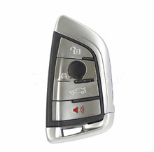 HXLIWLQLUCKY 4 Buttons Smart Remote Key 868mhz 7959p chip For 2014 BMW FEM CAS4/CAS4+ remote key free shipping