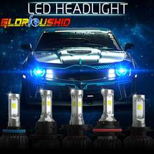 72 Вт 8000LM Автомобиля Led Лампы H7 H4 H1 H3 H11 H8 9006 9005 СВЕТОДИОДНЫЕ Лампы 6500 К Чипов CSP Все в одном СВЕТОДИОДНЫЕ Фары Авто Передние Противотуманные Фары свет