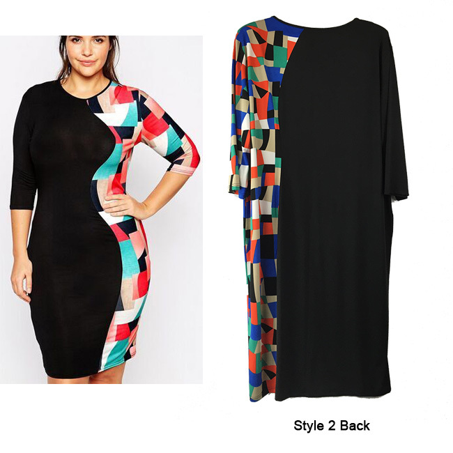 7a64b4cd9e2 3xl 6XL Stretch Summer Midi Dresses Plus Size Vestidos 5xl Bodycon Bandage  Dress Half Sleeve 4XL Big Midi Dress Pencil Slim-in Dresses from Women s  Clothing ...