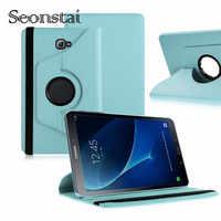 360 Caso Rotativo para Samsung Galaxy Tab 10.1 2016 T580 T585 Tampa do Suporte Estojo De Couro PU para Samsung Tab a6 10.1 T580N T580N
