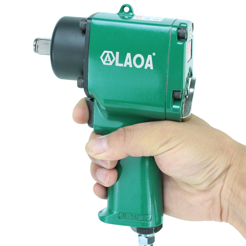 LAOA Алюминий пневматический гаечный ключ 1/2 гайковерт вперед и назад Скорость Регулируемый воздуха гаечный ключ
