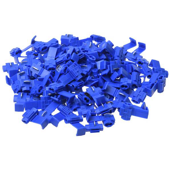 IMC Hot 100x Blue Scotch Lock Wire Connectors Quick Splice Terminals Crimp Electrical