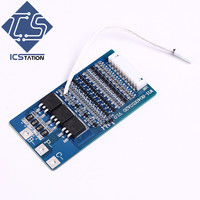 10S Polymer Lithium Battery Protection Board Module W Temperature Protection 37V 20A Charging Protection Board