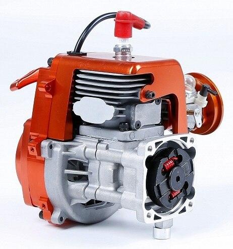 32cc 4 boulon moteur avec Walbro Carb 1197 et NGK bougie d'allumage pour 1/5 HPI BAJA 5B 5sc LOSI 5t DBXL FG buggy Redcat pièces de voiture - 3