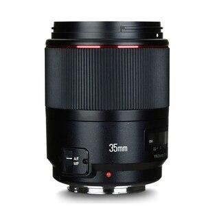 Image 2 - YONGNUO YN35mm F1.4 obiektyw szerokokątny obiektyw pełnoklatkowy do lustrzanki cyfrowe Canon 70D 80D 5D3 MARK II 5D2 5D4 600D 7D2 6D 5D