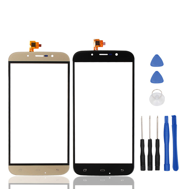 UMI ROME ROME X Original Touch Screen Touch Panel Glass For Cell phone 5.5 Inch Two Colors Phone Repair Free Tools As Gifts