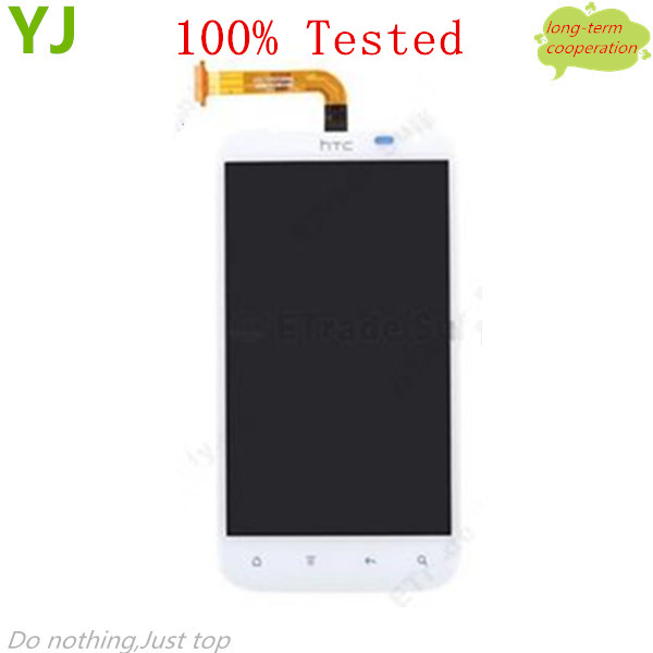 HK Free 100% tested AAA LCD Assembly with Touch Screen for HTC Sensation XL ( for HTC Runnymede) OEM