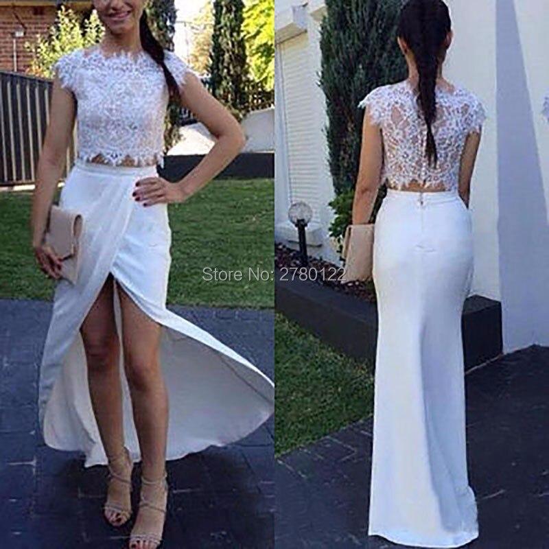 Лидер продаж 2020, сексуальное платье с коротким рукавом, 2 шт., с рукавом крылышком, длина до пола, тафта Русалка, недорогое белое платье