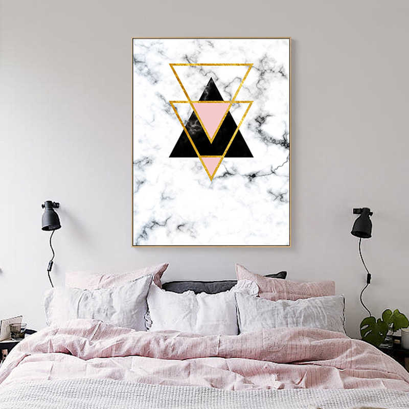 Geometric Designs Posters And Prints Wall Art Canvas Painting Modern Metal Pictures For Living Room Decoracion Marvel Decor