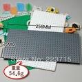 Envío gratis! * 16x32 * tamaño : 12.8 cm x 25.6 cm DIY ilumine bloque ladrillos, Compatible con Lego monta los