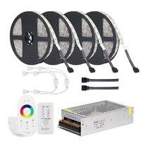 DC12V 5050 LED Strip RGB RGBW RGBWW 5M 10M 20M Set LED Strip 5050 RGB 60LEDs