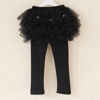 크기 3 톤 슈퍼 양털 늘어선 블랙 두꺼운 소녀 따뜻한 레깅스 아기 Pantalones 여자 Leggins 콘 Falda 겨울 레깅스 바지 스커
