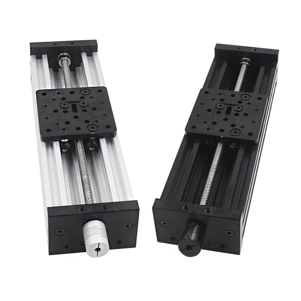 3D Printer Z Axis c-beam T8 Lead Screw OD 8mm Pitch 2mm 350mm 400mm 450mm 500mm CNC sliding table li