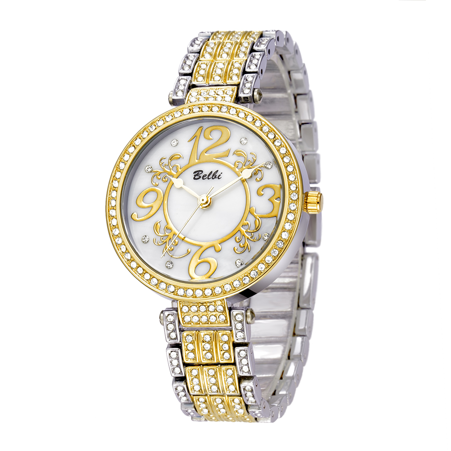 Superior BELBI Watches For Women Luxury Gold Women Watches Top Brand Quartz  Watch  The Womans Wristwatches