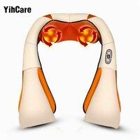 YihCare U Shape Electrical Back Neck Shoulder Body Massager Infrared Heated Kneading Car Massager Multifunctional Massage
