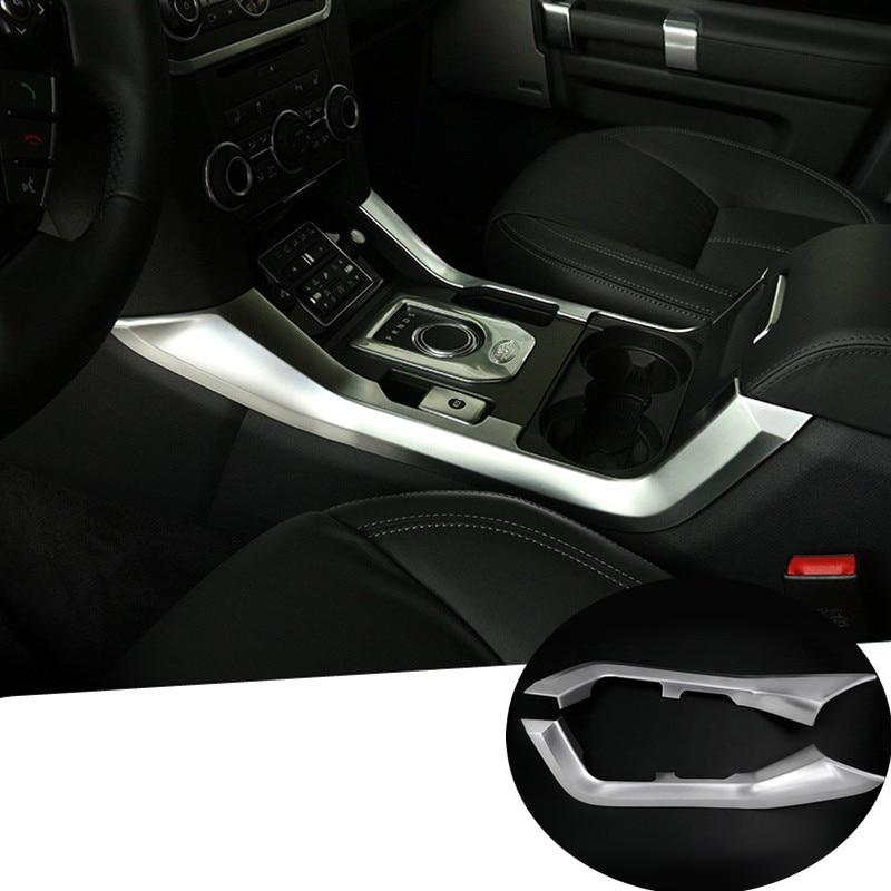 Inner Gear Shift Box Frame Cover Trim For Land Rover LR4