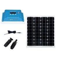 Solar Kit Solar Panel 18v 50w 12v Car Battery Charger Solar Charge Controller 12v/24v 10A Caravan Car Camping Outdoor Light