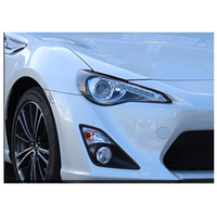 carbon fiber eyebrow headlight lips brows Fit For Toyota gt86 2012 2016
