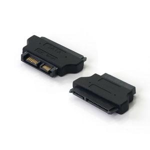 Image 5 - ULT Best SATA Adapter SATA 7+15 22P Female to Slim SATA 7+6 13P Male Adapter  Male to Female Converter Black