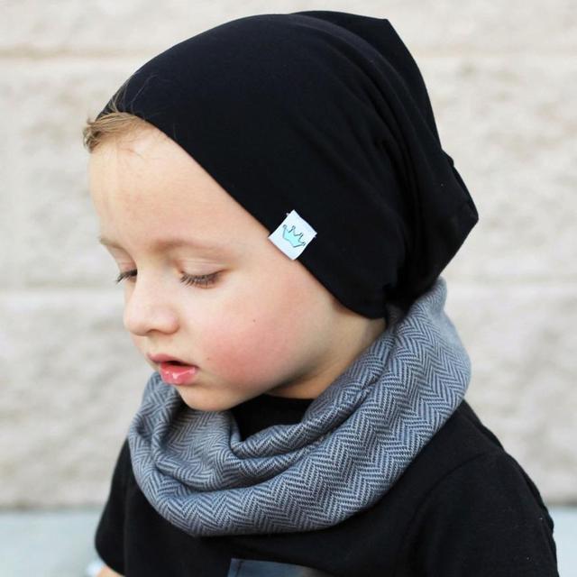 Spring / Autumn Toddler Kids Soft Warm Hat Infant Daily Cotton Caps Children Clothes Accessories Krystal