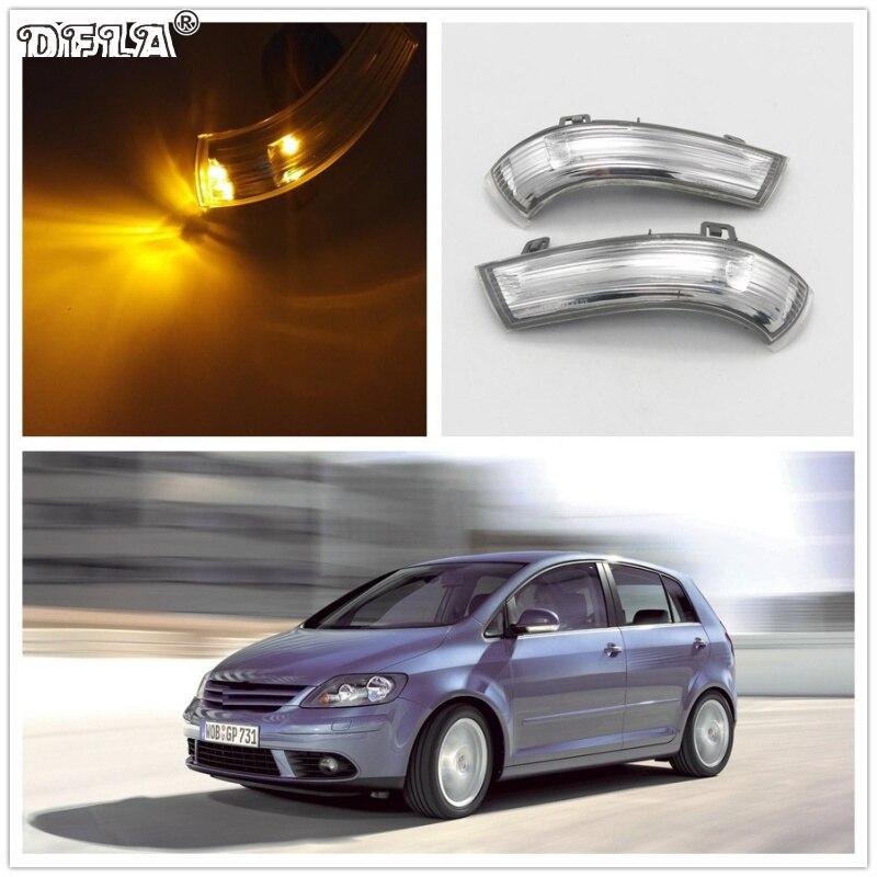 Pour VW Golf 5 Plus 2005 2006 2004 2005 2006 2007 2008 2009 2010 2011 2012 2013 Voiture-Styling Side Miroir Clignotants LED Lumières