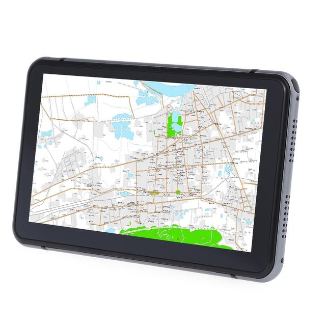 706 7 pulgadas de Camiones de Coches Navegación GPS Navigator con Mapas Gratuitos Win CE 6.0/Pantalla Táctil/E-book/Video/Audio/Juego jugador