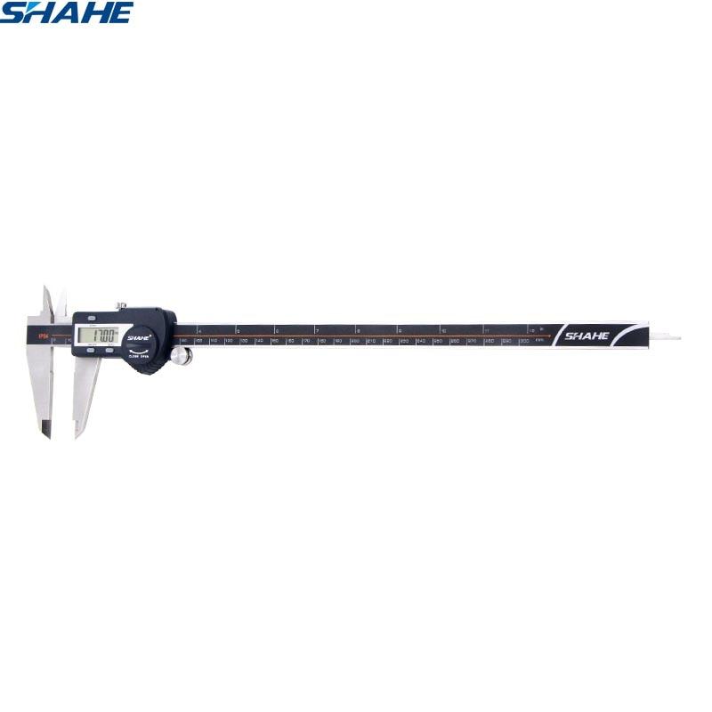 SHAHE lcd digital electronic caliper gauge micrometer paquimetro 300mm messschieber digital calipers micrometer caliper steel