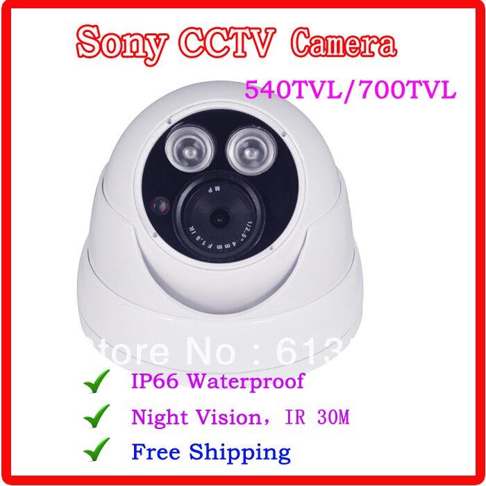 1/3 Sony CCD Cctv Camera , Outdoor /Indoor Waterproodf security  camera ,700TVL  CCTV  free shipping