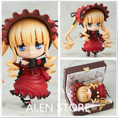 Anime Figure 10CM Rozen Maiden Nendoroid Shinku 364 PVC Action Figure Collectible Model Cartoon Toy Gift