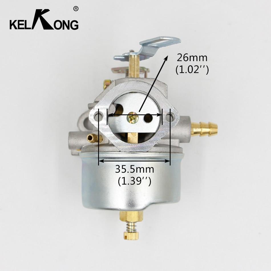 KELKONG Brand New Carburetor For Tecumseh 632370A 632370 632110 Carb Lawnmower Blowers HM100 HMSK100 HMSK90 Chainsaw