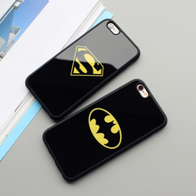 Batman Superman Phone Case iPhone 7 6 6s Plus 5 5s SE