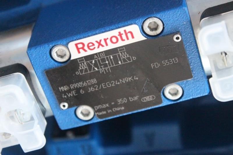 REXROTH hydraulic valve 4WE6J 6X/EG24N9K4 Solenoid valve rexroth solenoid valve z1s6p05 4x v hydraulic valve